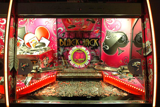 Black Jack 2 player - Coin Pusher | VDW International